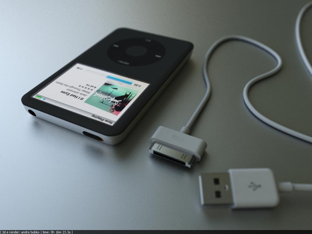 ipod - 3d by Maca