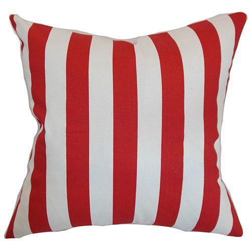The Pillow Collection Sitara Stars Lipstick Down Filled Throw Pillow
