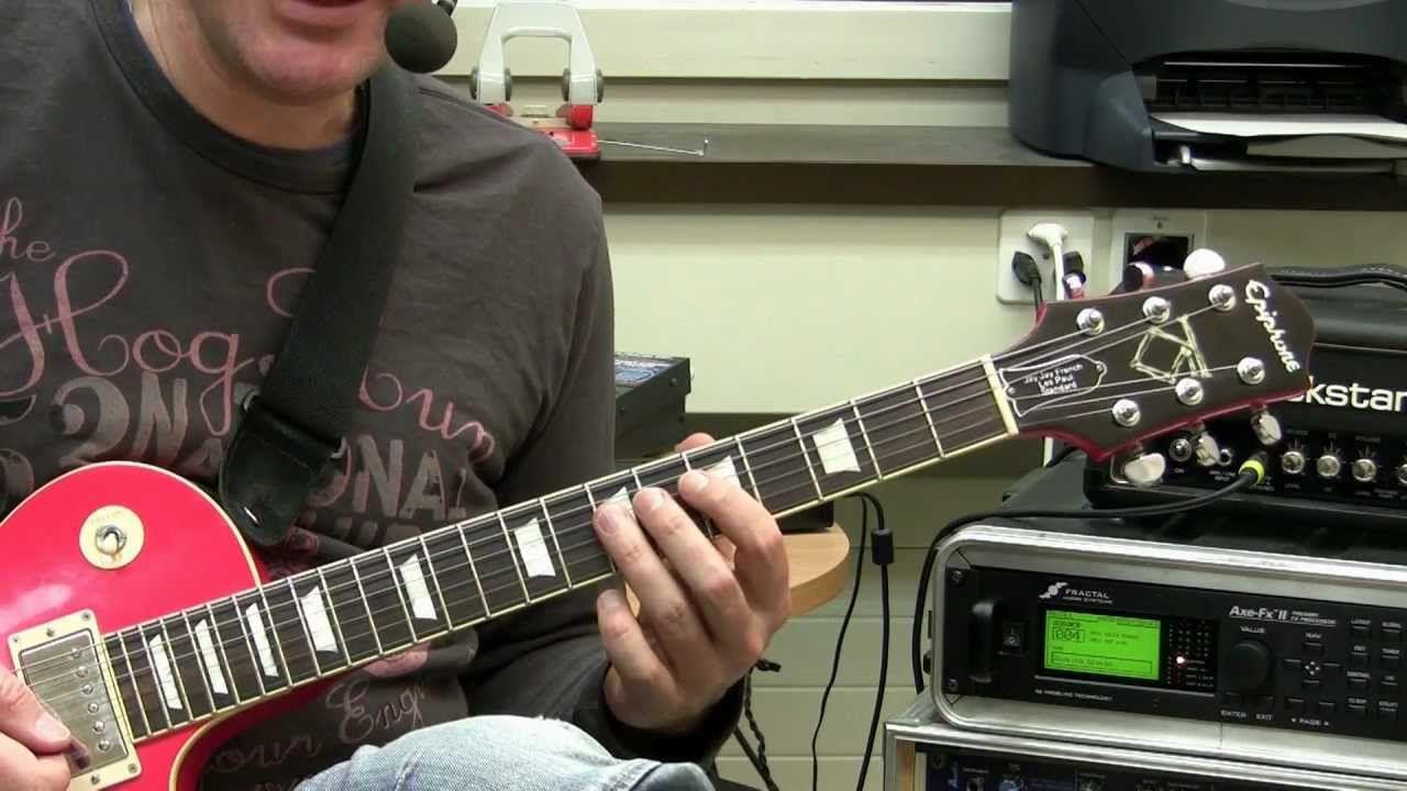 Guitar Lesson Basic Rock Improvisation YouTube