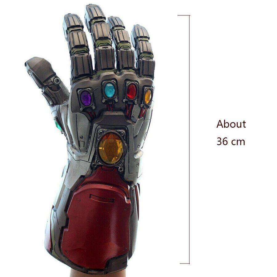 Avengers 4 Endgame Infinity Gauntlet Cosplay Iron Man Tony Stark Glove Props