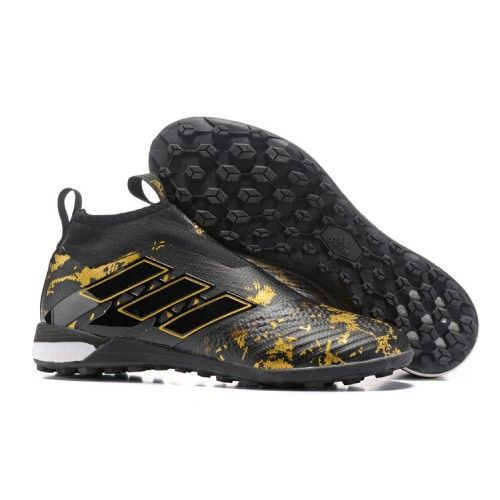 best website 5aa60 a3b65 Baratas Adidas ACE Tango 17 Purecontrol TF Botas De Futbol Negro Oro