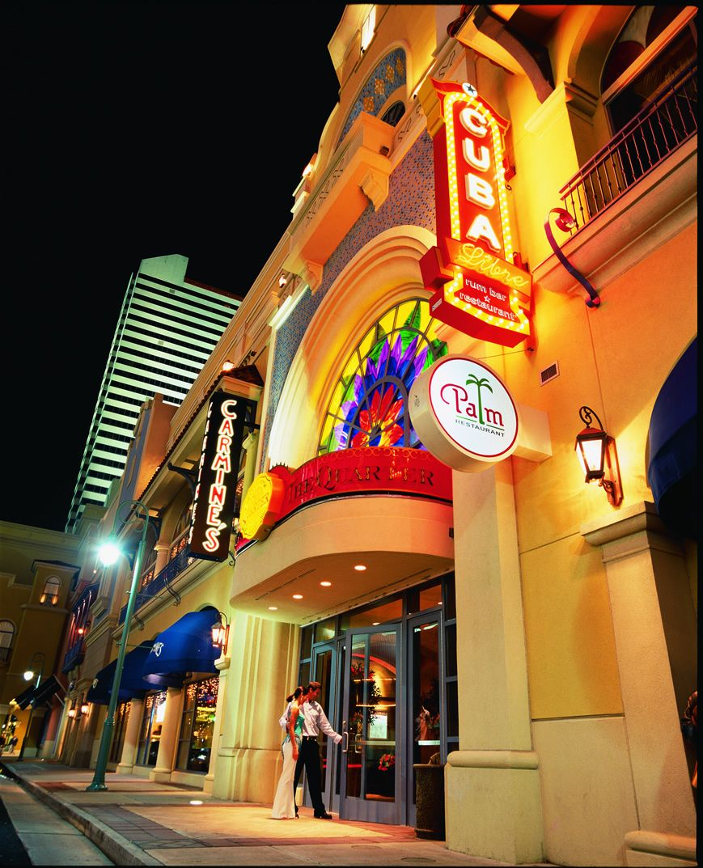 The Quarter At Tropicana Atlantic City Carmine S Cuba Libre The Palm P F Changs Atlantic City Restaurants Atlantic City Atlantic