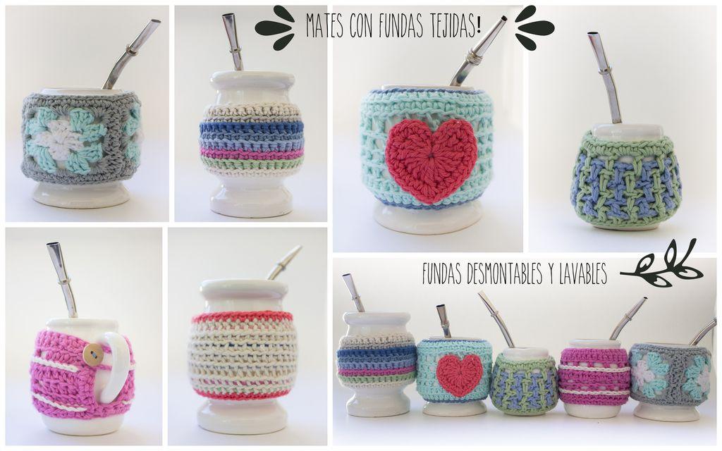 101 mejores imágenes de mate a crochet | Cubre tetera, Ganchillo ...