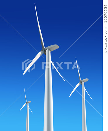 White Wind Turbines Wind Turbine Turbine Photo