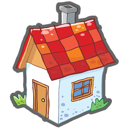 Small House Icon Png Clipart Image Home Icon Small House Property Marketing
