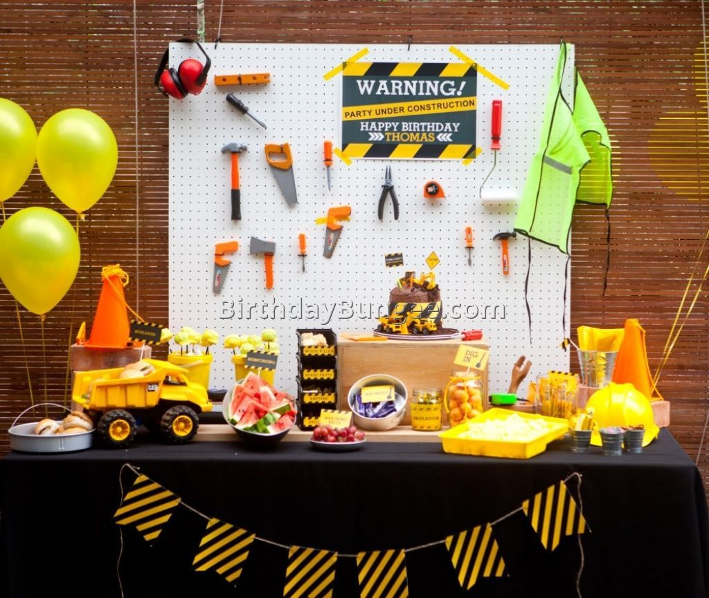 4 Year Old Boy Birthday Party Ideas 2