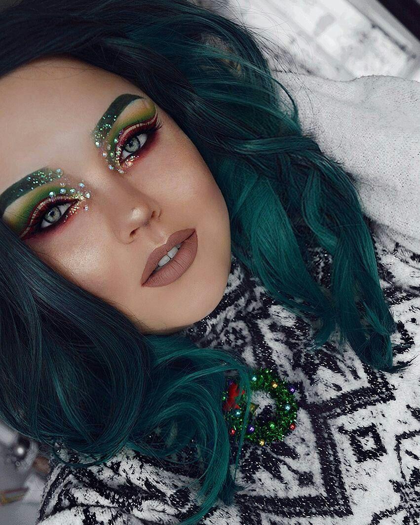 glittery christmas elf makeup igbangtsikitsiki elf makeup eye makeup art - Christmas Elf Makeup