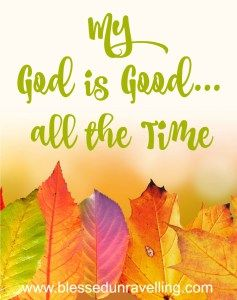 MY GOD IS GOOD | Morning Devotions