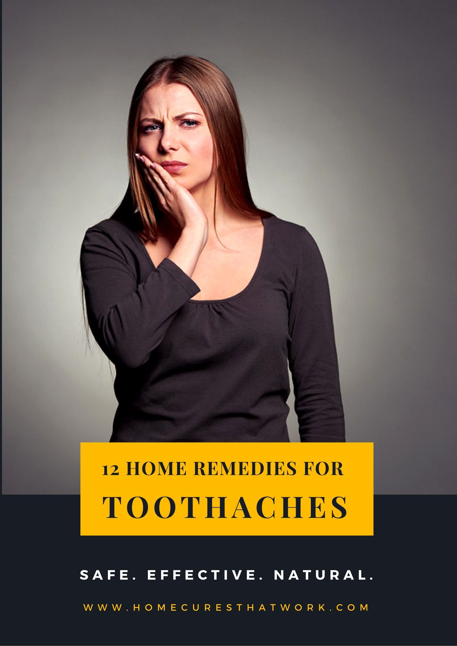 Toothaches are also at the top of the list for serious pain