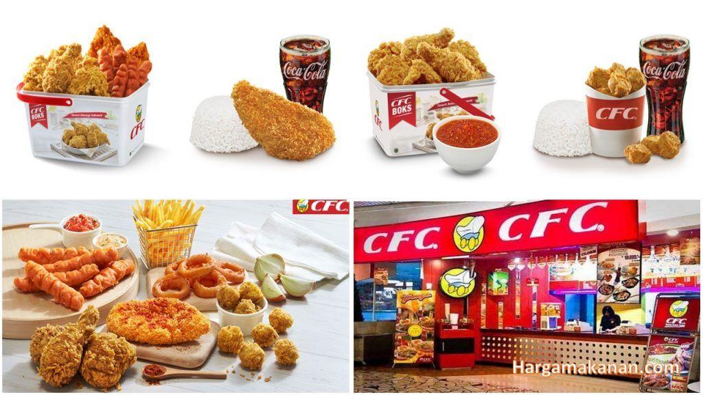 Harga Menu CFC Malang Makanan, Kari
