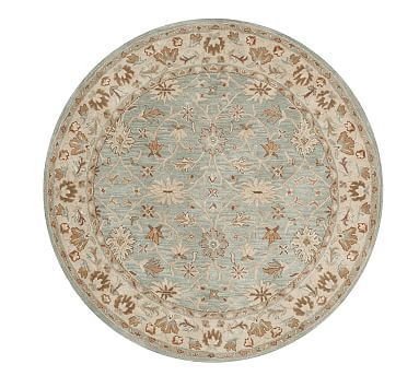 Malika Persian Style Rug Rugs Pottery Barn Persian