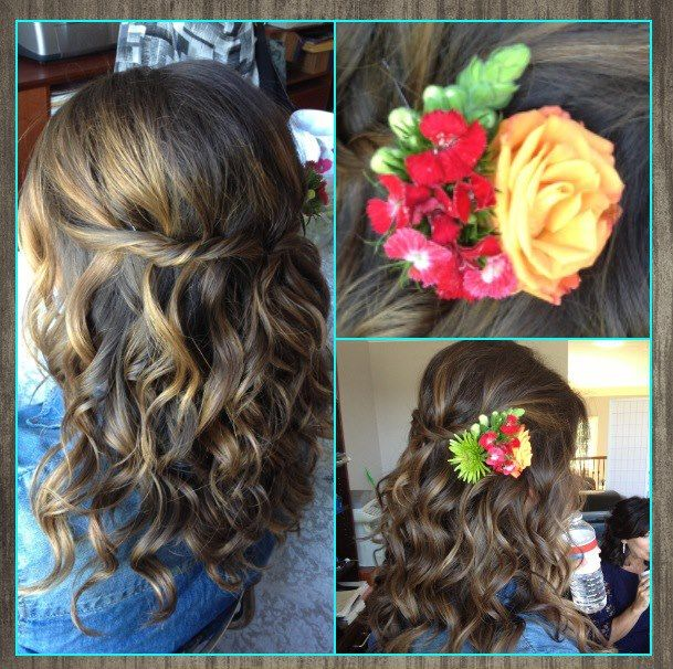 Wedding Hairstyle Nashville: Bride, Hair By Katie Russo Beauty, Nashville