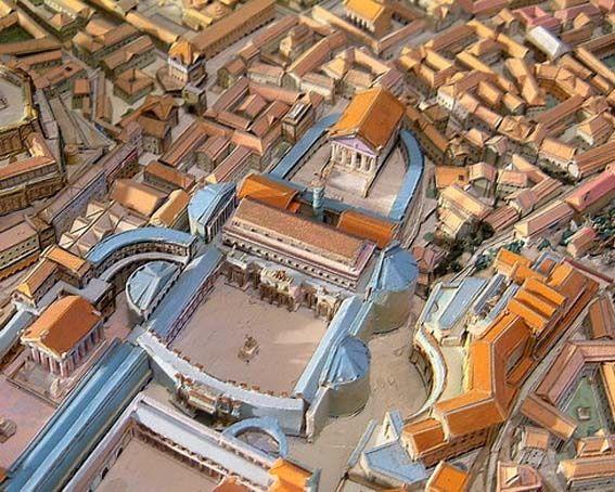 Reconstruction Of The Roman Forum Ancient Rome Architecture Ancient Roman Architecture Ancient Rome
