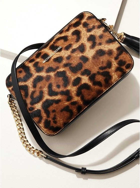 9ed815102dac I just ordered this Calf Hair Leopard Crossbody, theGinny by Michael  Michael Kors! Can't wait for it to arrive!