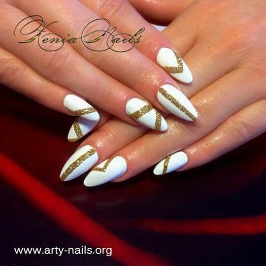 White and gold