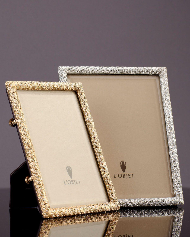 Pave Gold Platinum Frames In 2020 Pave Gold Frame Gold Platinum