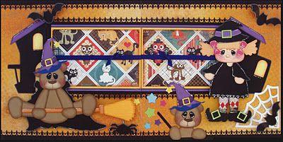 Layout - Halloweenn Village