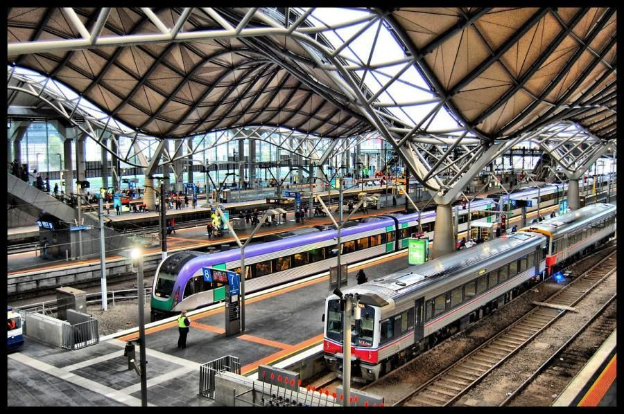 southern cross railway station track n trains train. Black Bedroom Furniture Sets. Home Design Ideas