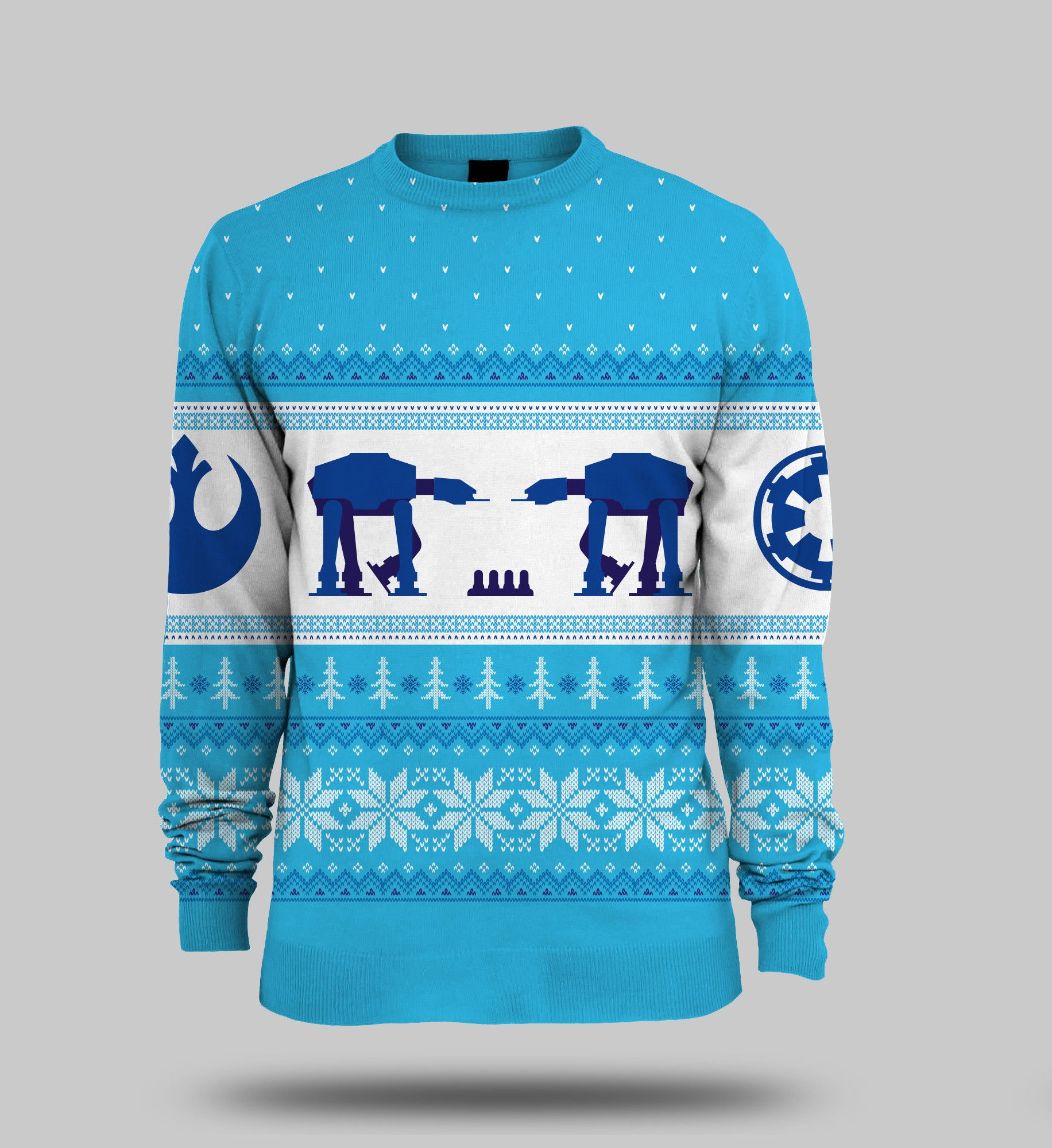 Star Wars AT-AT Christmas Jumper – MerchandiseMonkey | design ...