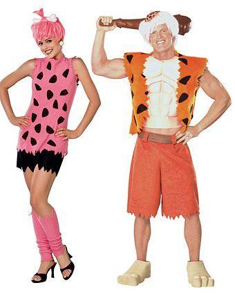 Pebbles Flintstone Adult #pebblesandbambamcostumes