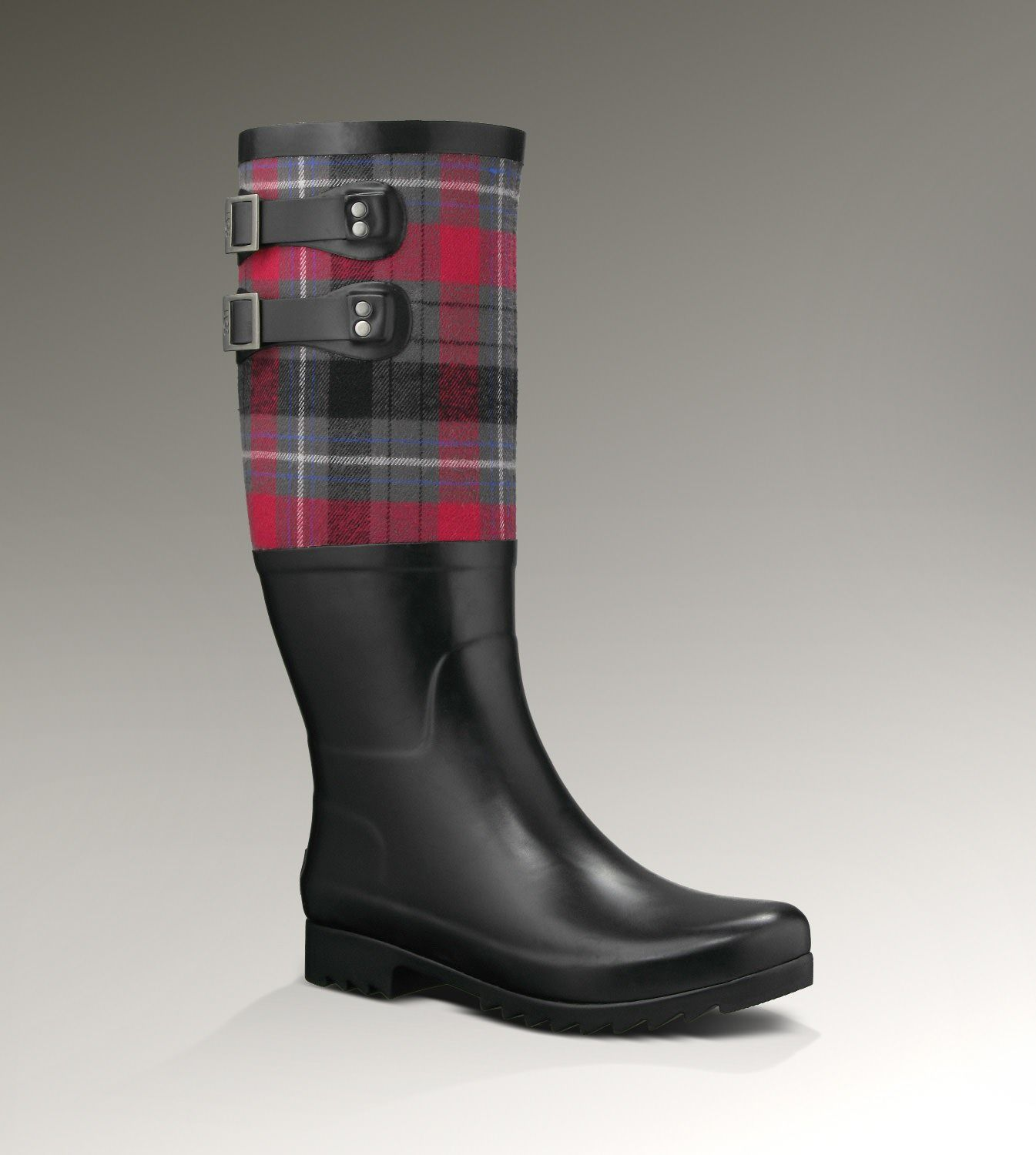 great discount stylish design convenience goods UGG® Sabene Plaid for Women | Rainboots at UGGAustralia.com ...