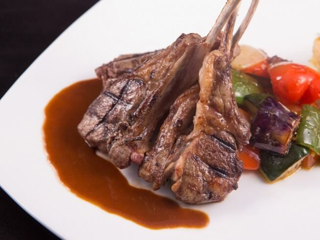 A 5 Star Recipe For Outback Steakhouse Rack Of Lamb Cabernet Sauce Made With Cabernet