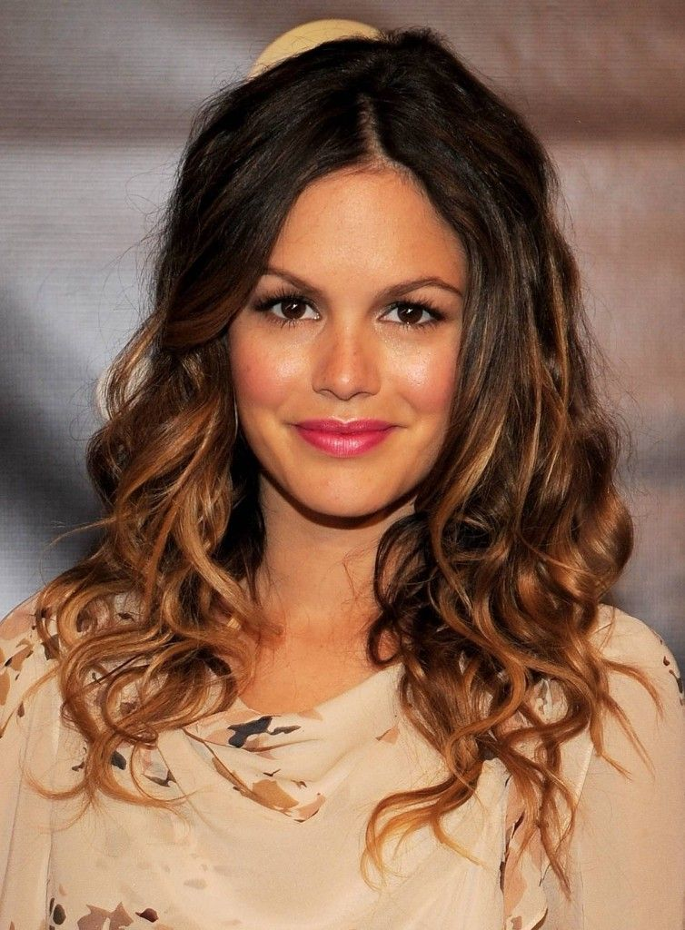 Layered Curly Hair On Rachel Bilson On The Fashion Time Http