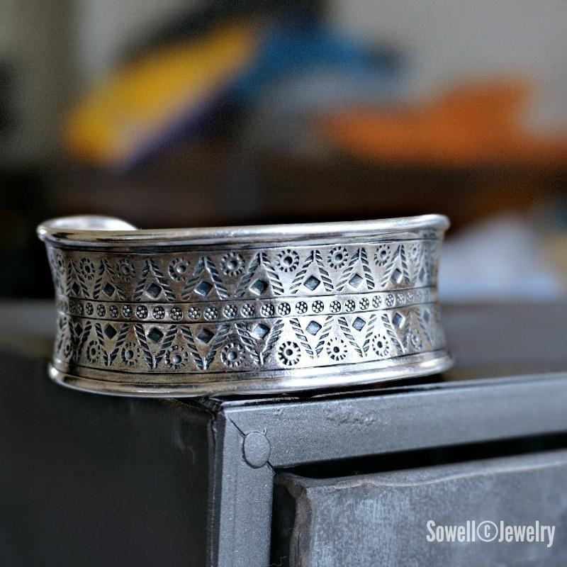 Mee Tribal Cuff Bracelet