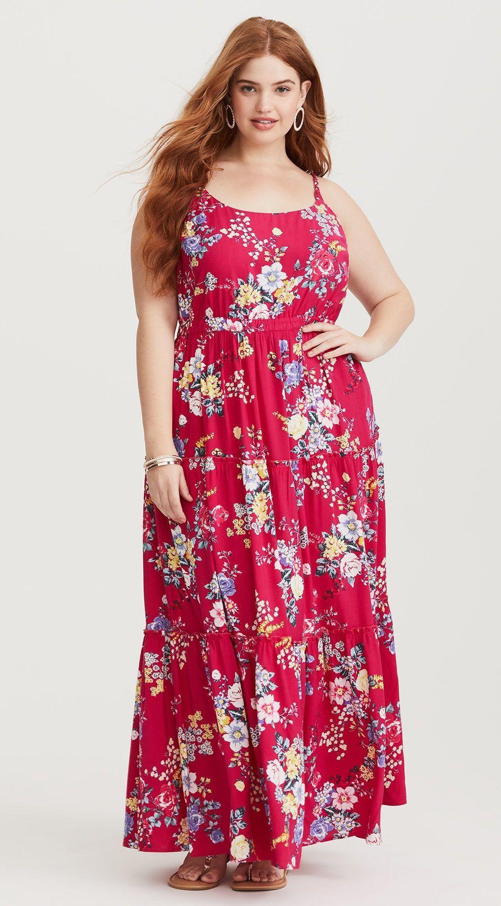 57ed2b68c4 Plus Size Maxi Dress - Plus Size Fashion for Women  plussize