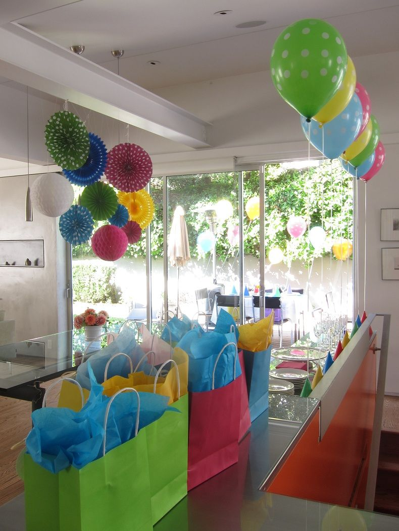 simple decoration ideas for birthday party at home villa