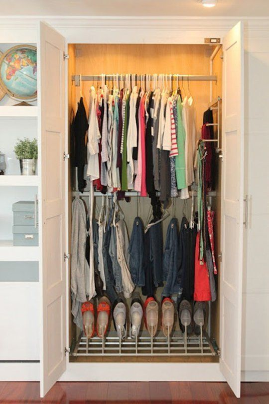 how to make a wardrobe ikea hack