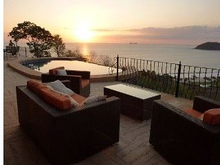 Luxury beach villa rental with hot tub, private pool and ocean views  Home away 3005979