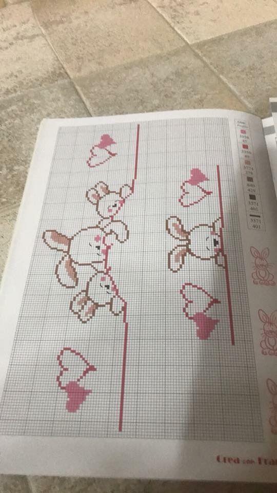 Pin de Lau Abecasis en bebe | Pinterest | Punto de cruz, Punto de ...