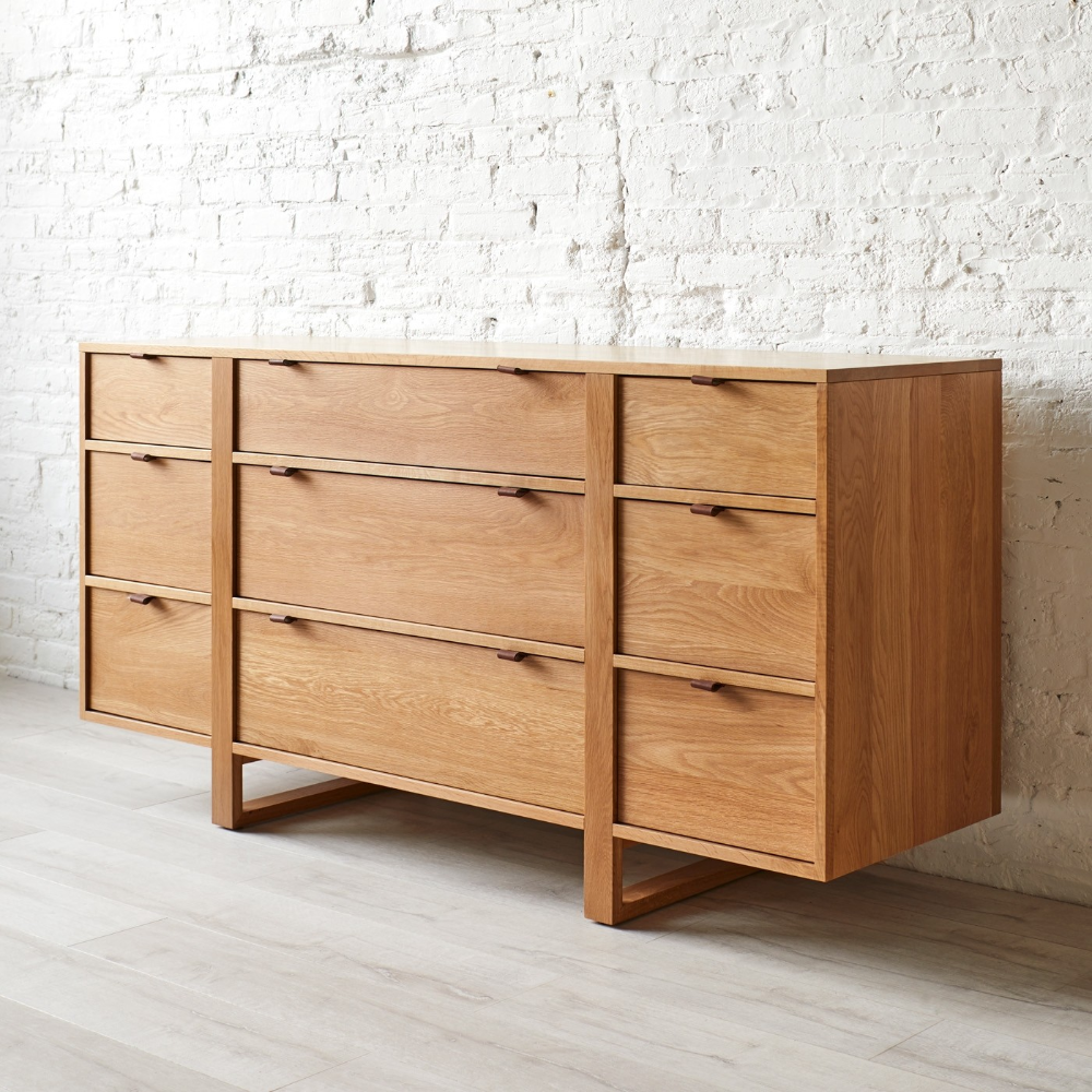 Fulton 9 Drawer Dresser In 2020 Minimalist Wood Furniture Wood Furniture Diy Vintage Bedroom Furniture