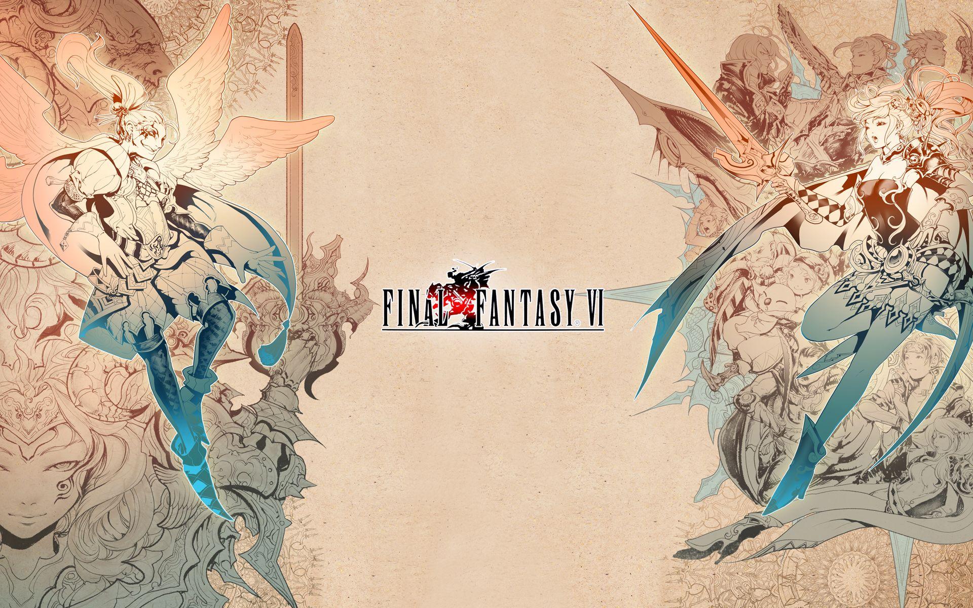 Love It Final Fantasy Art Final Fantasy Vi Final Fantasy Iv