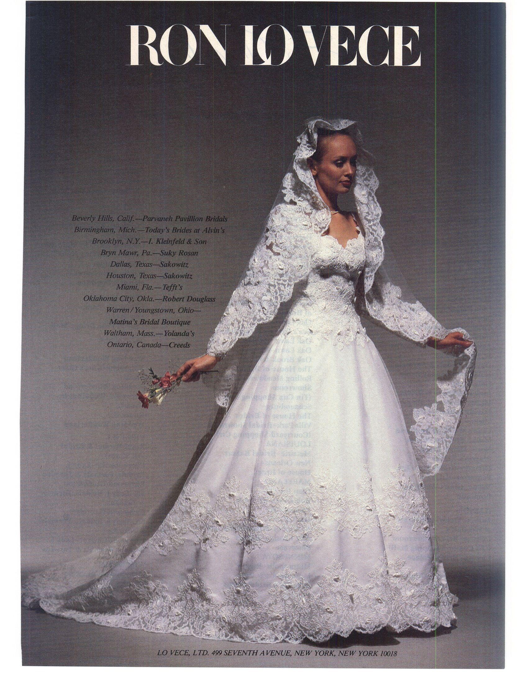Brides Magazine April May 1983