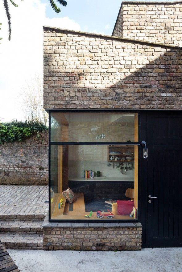 Brick Addition / NOJI Architects Architecture, Bricks and Architects
