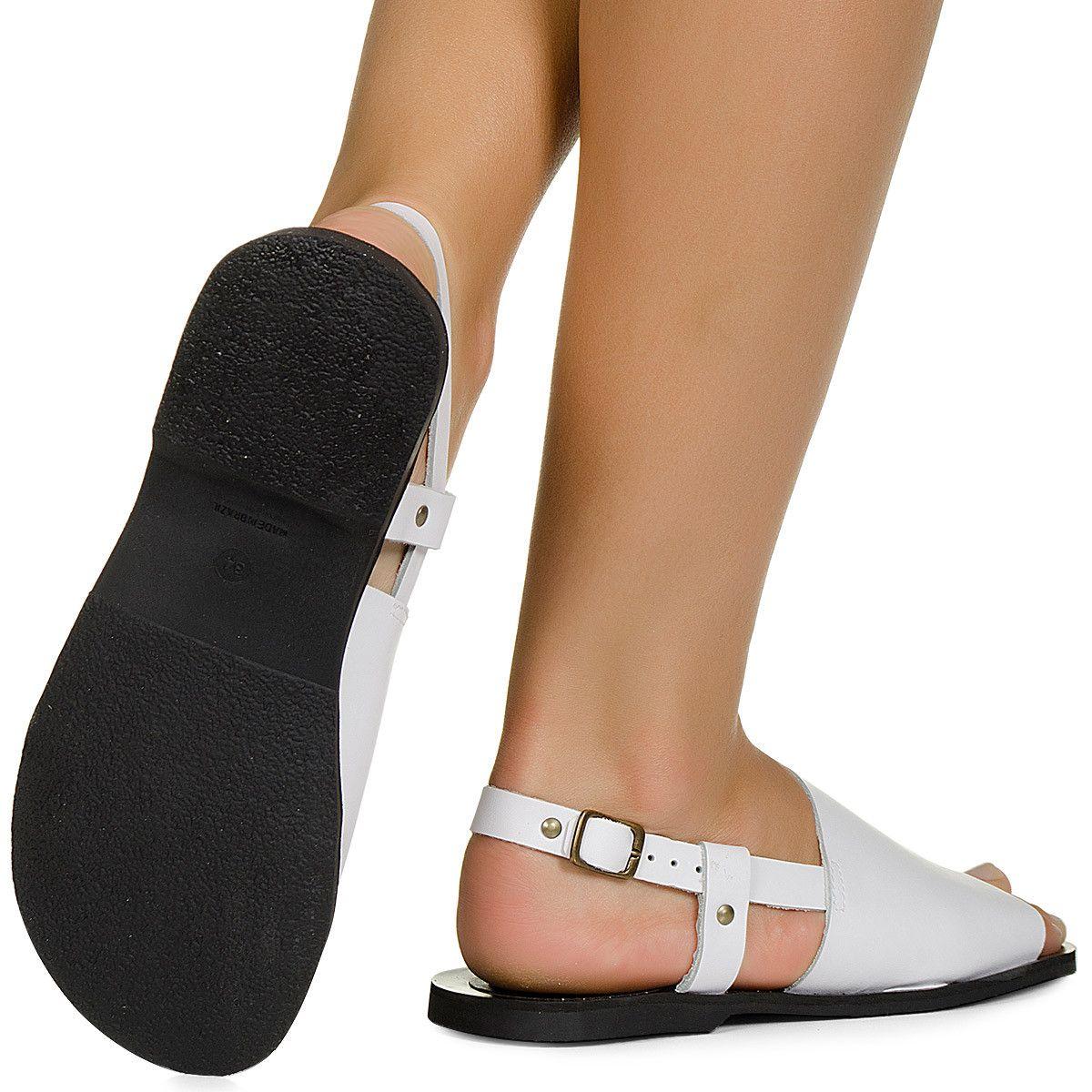 39200b9cb Rasteira avarca branca Taquilla - Taquilla - Loja online de sapatos  femininos Lojas De Calçados Femininos