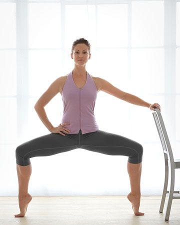Barre workout - 7 moves