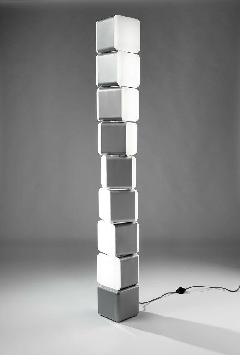 Indirect #light floor #lamp KUBIK by LEDS-C4 SA   #design Josep ...
