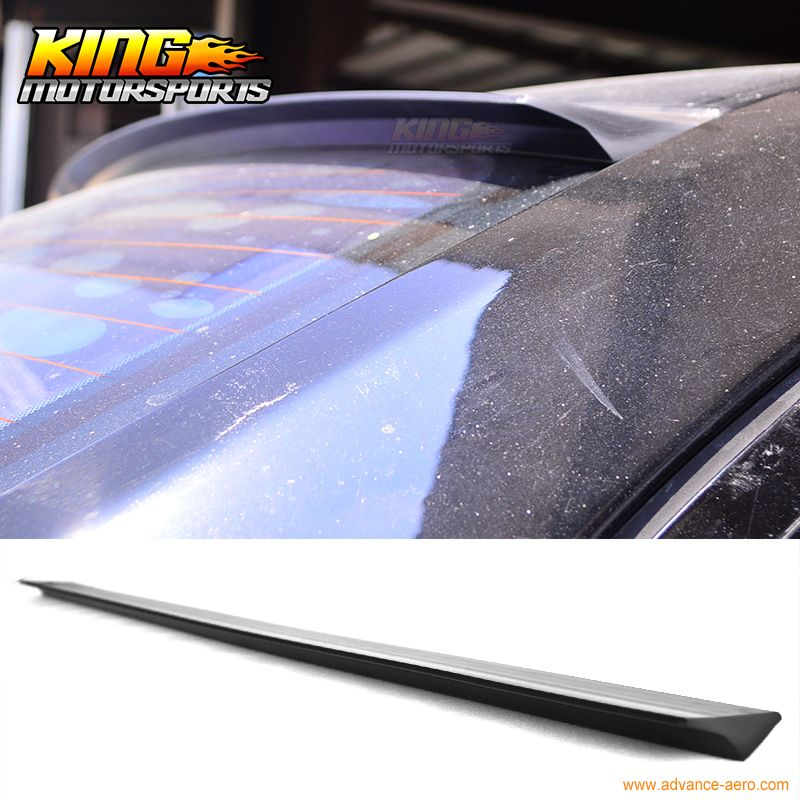 For 04 05 06 07 08 Maxima A34 4dr Vrs Style Roof Spoiler Wing Unpainted Puf Nissan Maxima Replacement Parts Nissan