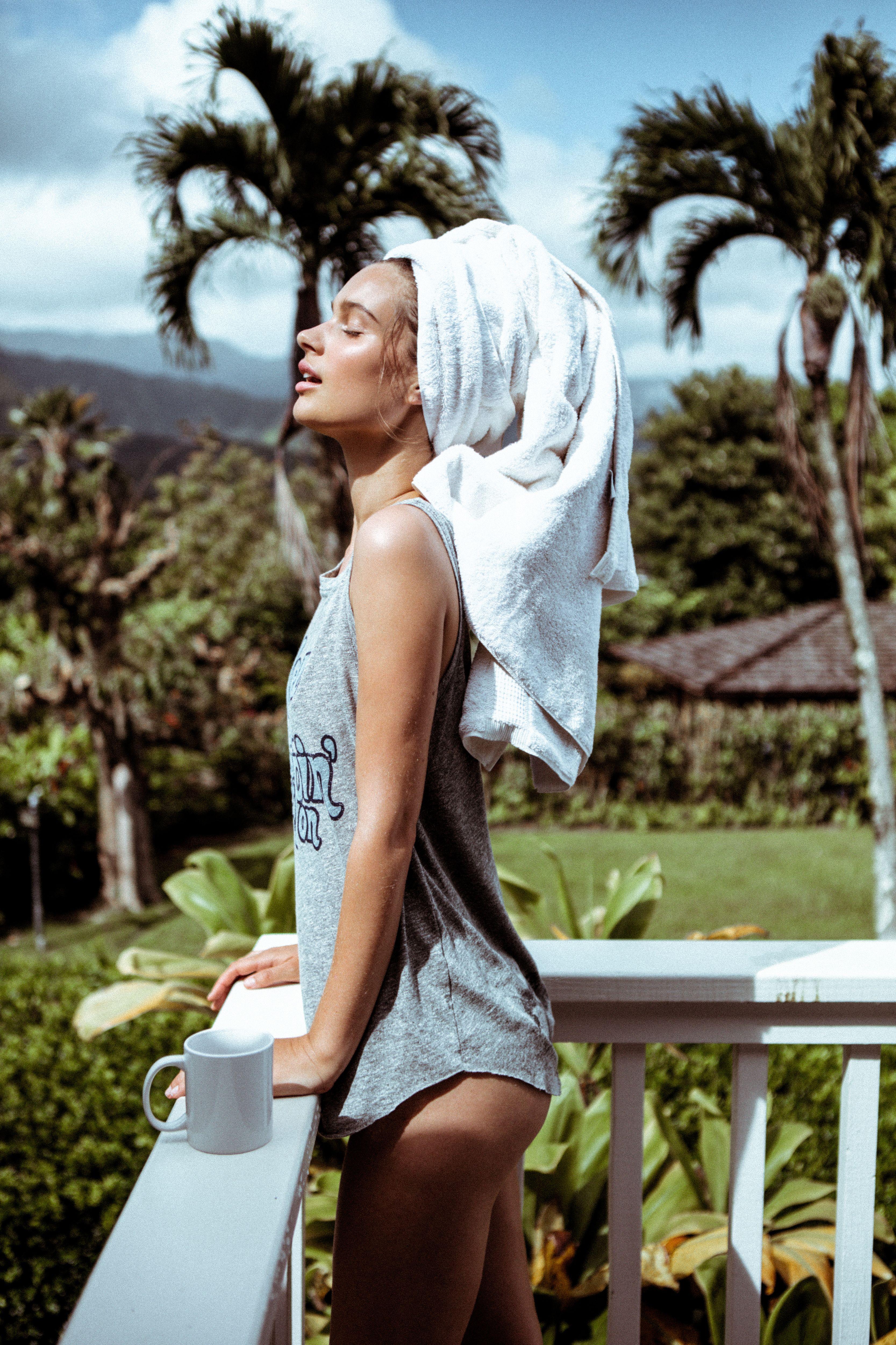 LOST IN PARADISE // Lise Bjørgen Olsen for MATE the Label summer '16 shot by Bryan Rodner Carr