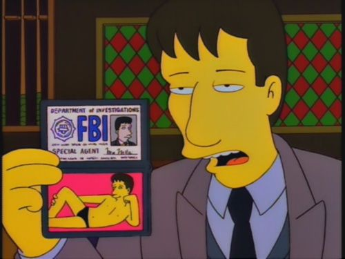 great pics: Agent Mulder, F.B.I.