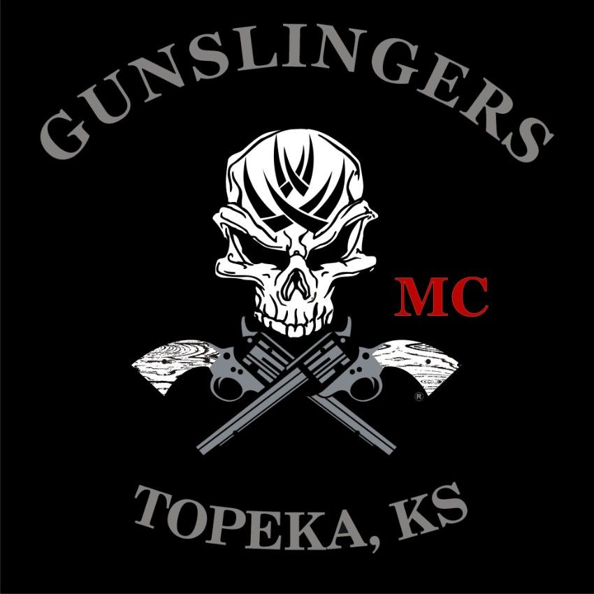 Gunslinger informal pinterest bikers harley for Tattoo shops topeka ks