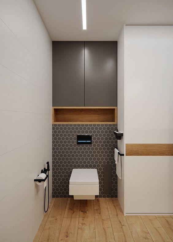 25 beliebte Ideen für die Badgestaltung ab 2019 – 1 Dekorieren – #Badezimmer #Kom - bingefashion.com/dekor #dekohauseingang