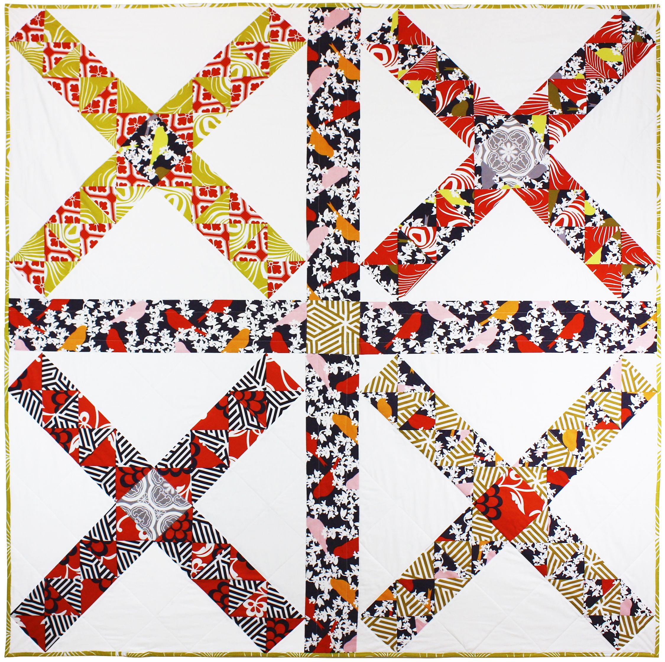 Tara Faughnan Barn Door Quilt 2015 Collaboration With Michael Miller