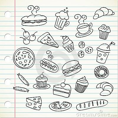 Food doodles | FollowPics