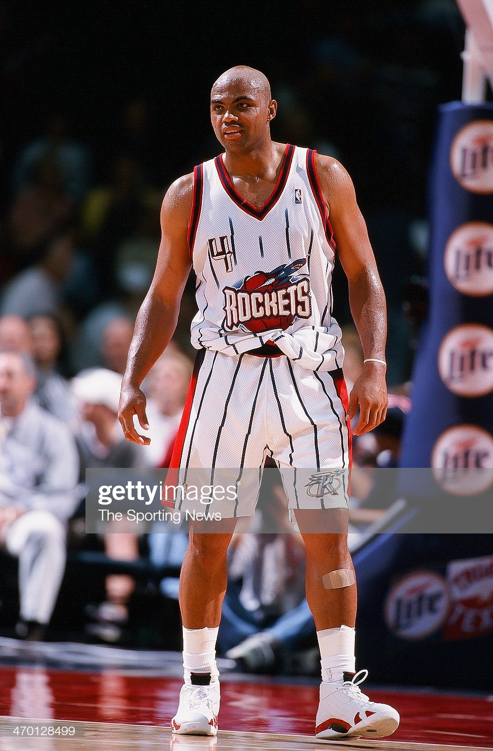 Charles Barkley Of The Houston Rockets During The Game Against The Charles Barkley Houston Rockets Charles