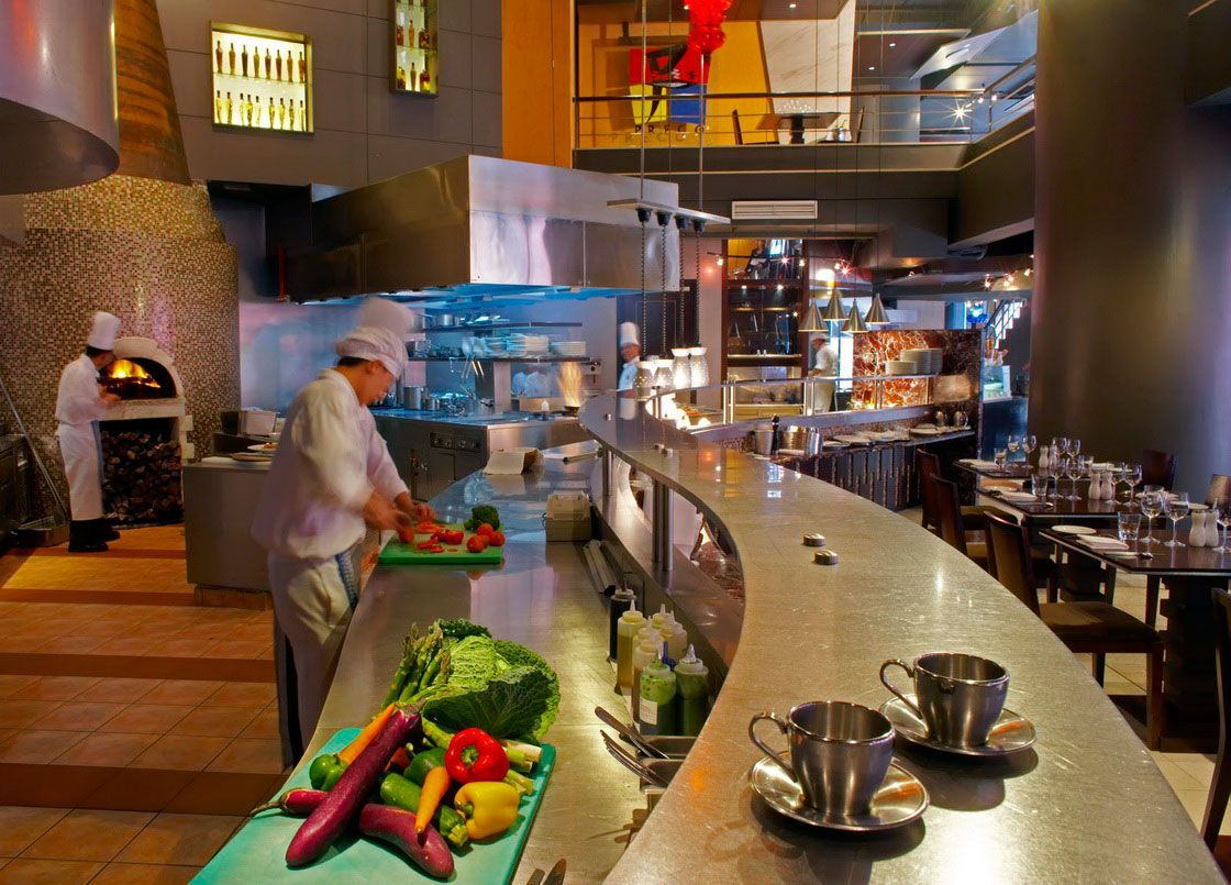 Best Open Restaurant Kitchens Images On Pinterest Restaurant