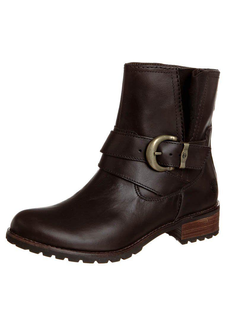 BETHEL - Korte laarzen - dark brown @ Zalando.nl  <div class=